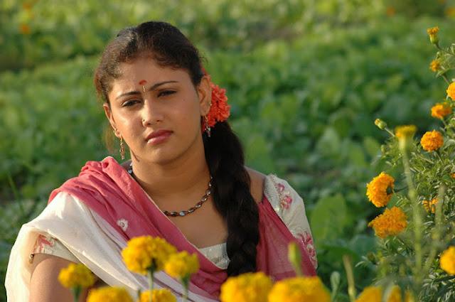 Amrutha Valli smiling