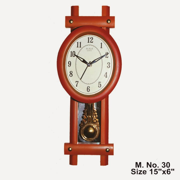 Shopclues : Buy Pendulum Wall Clock Plaza M30 at Best Price And 20% Cashback ,worth Rs.1999 at Rs.159 only