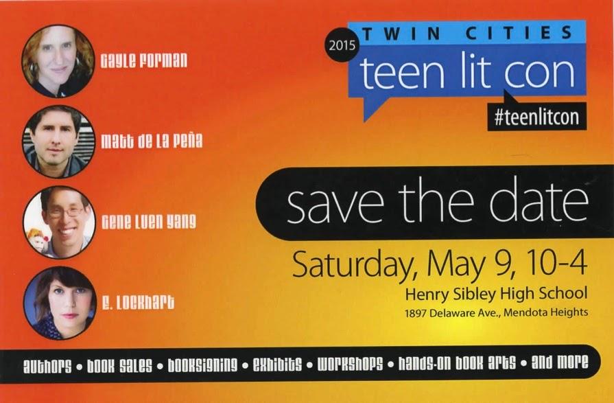 Teen Lit Con 5/9/15