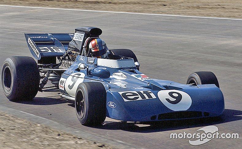 3 de octubre, 1971 / FRANCOIS CEVERT GANABA POR UNICA VEZ EN F1