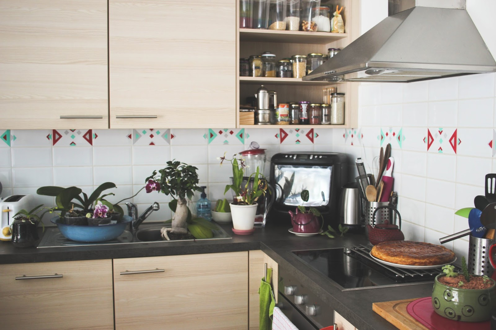 Sugar and dinosaurs urban jungle bloggers kitchen greens for E kitchen by urban feast