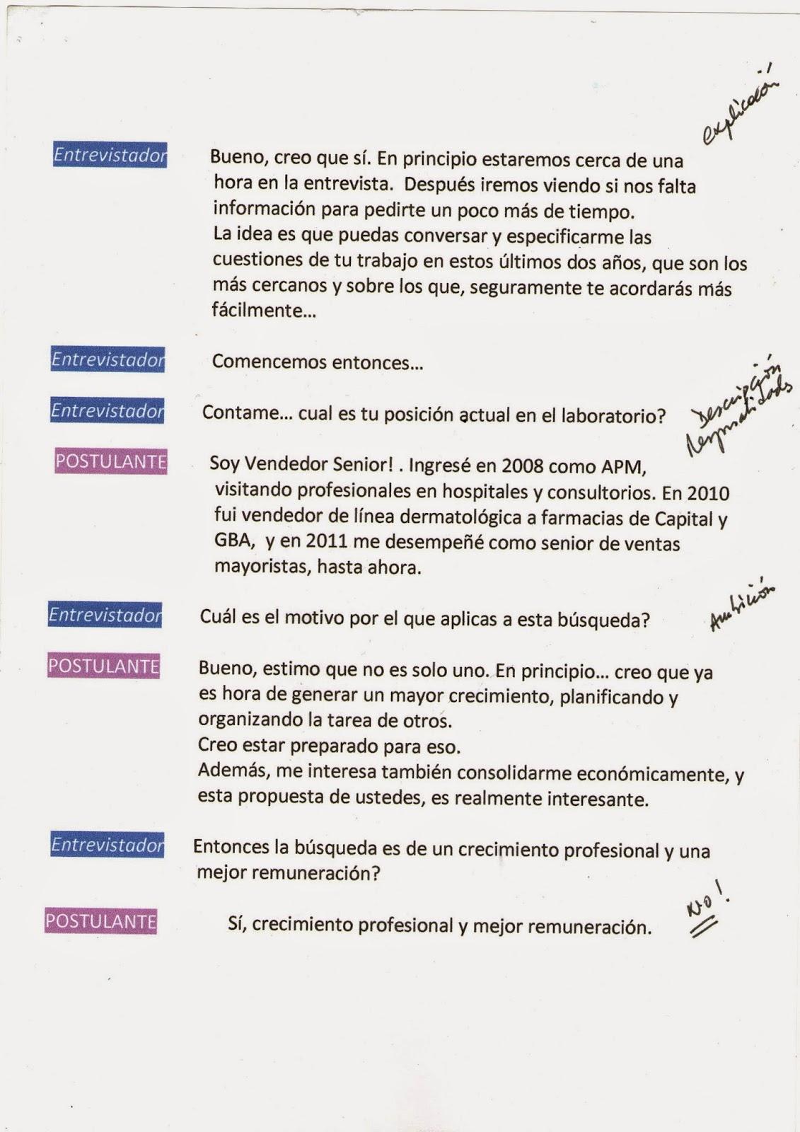 Simulador de Entrevista de Competencias   Temas Universitarios ...