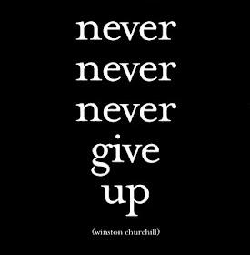 Nunca abandones...