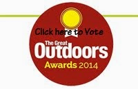 TGO Awards 2014 - Shortlisted in the Outdoors Blogger Category