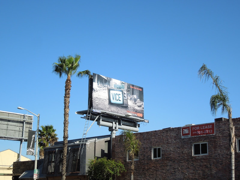 Vice HBO billboard