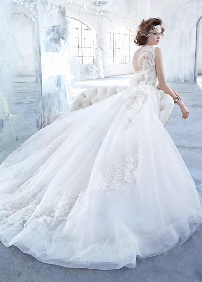 Modernos vestidos de novia