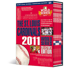 A&E Home Video St. Louis Cardinals 2011 World Series Champions Collectors Edition DVD SET