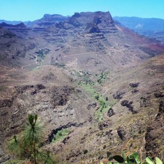 Barranco Fataga Degollada Yeguas, Gran Canaria