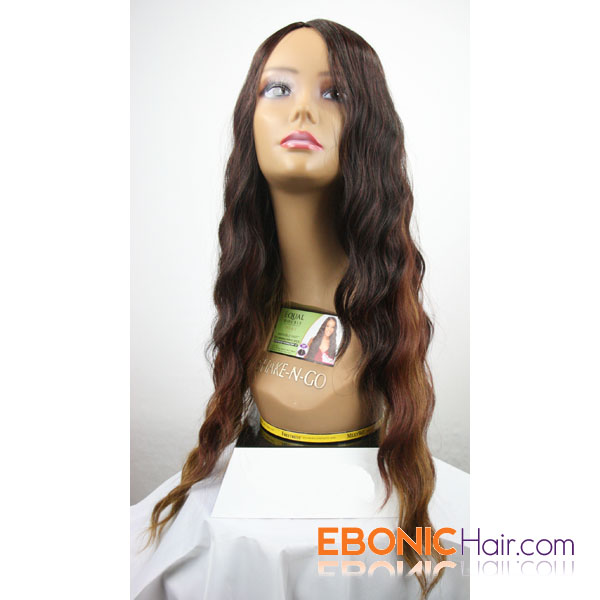 Equal Double Weave Invisible Part Stunning Wave 5pcs Attrak