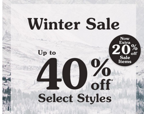 Roots Winter Sale Up To 40% Off + Extra 20% Off Sale Items