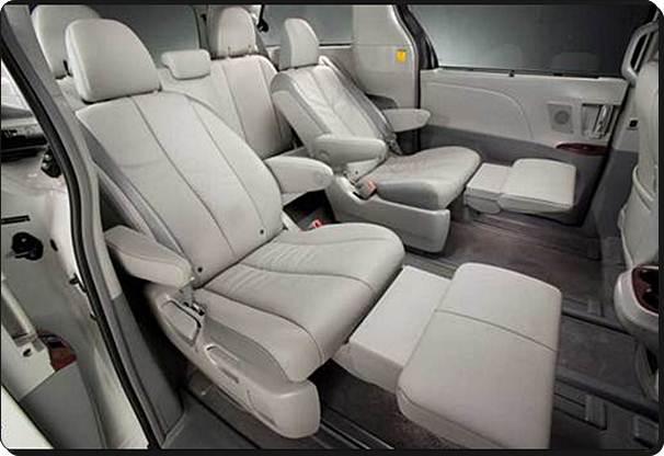2017 Toyota Sienna Design Interior