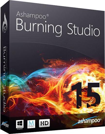 اشامبو بيرن استوديو 2015 لحرق الاسطوانات