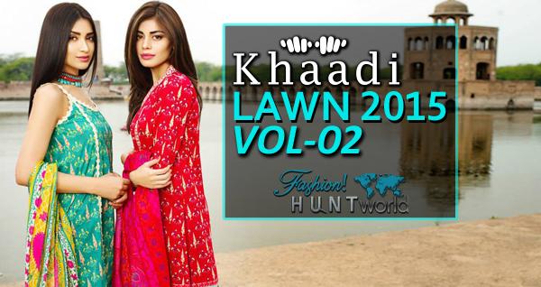 Khaadi Lawn 2015 Vol-2