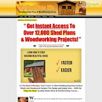 12000 Shed Plans with Shed Blueprints / Diagrams & Woodworking
