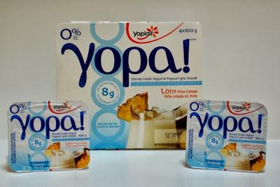 YOPA! Lotta Pina Colada stirred Greek Yogurt