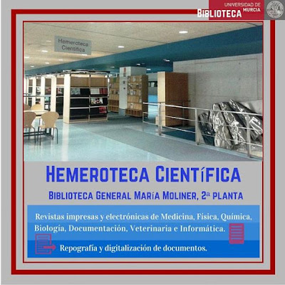 """""""Conócenos 5"""" - Hemeroteca Científica"""