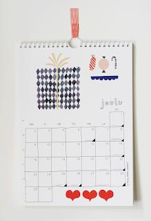 Kanelimaan sisustus kalenteri 2013