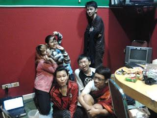 Photo Story : Doa Malam Bersama di Radio - Catatan 1 Maret 2013 - www.catatanbryant.com