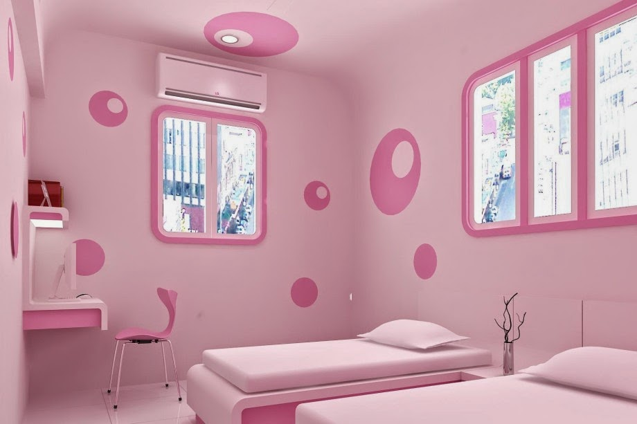 girls room wall decorating ideas