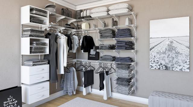 Closet feminino Aramado
