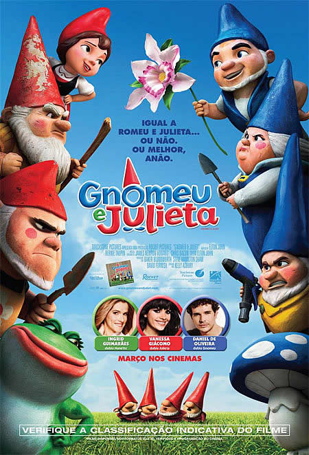 Gnomeu e Julieta + Legenda