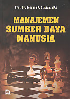 AJIBAYUSTORE  Judul : MANAJEMEN SUMBER DAYA MANUSIA Pengarang : Prof. Dr. Sondang P. Siagian, M.PA. Penerbit : Bumi Aksara