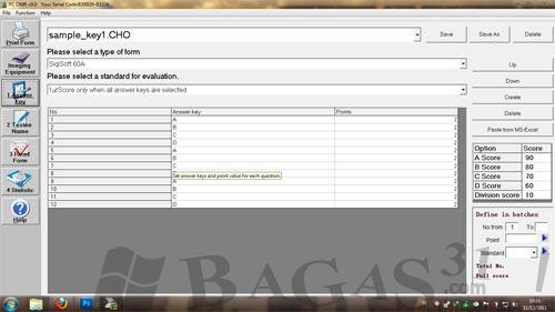 Aplikasi Pembaca LJK | PC OMR 9.0 Full Keygen 3