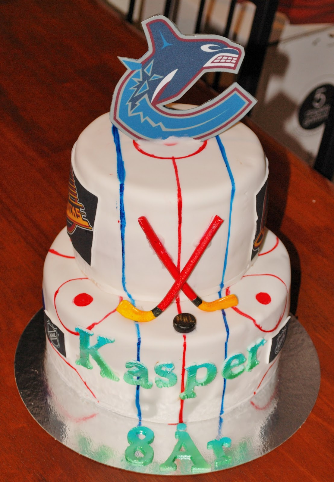 ishockey kake