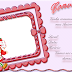 Molduras em png convites de aniversário da moranguinho 1 fundo 2