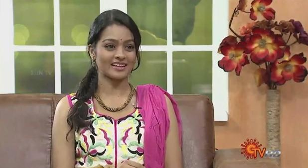Virundhinar Pakkam – Actress Gayathri – Sun TV Show 10-09-2013