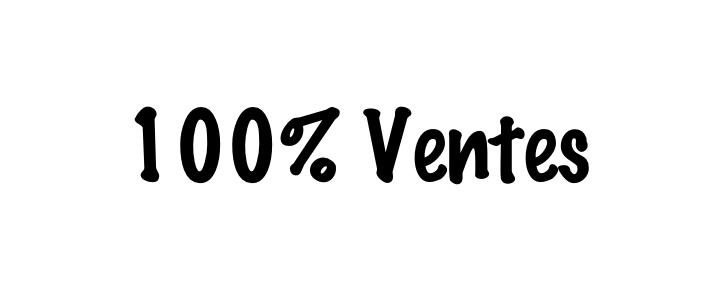 100% Ventes