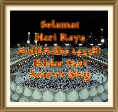 Selamat Menyambut Hari Raya AidilAdha 1433H