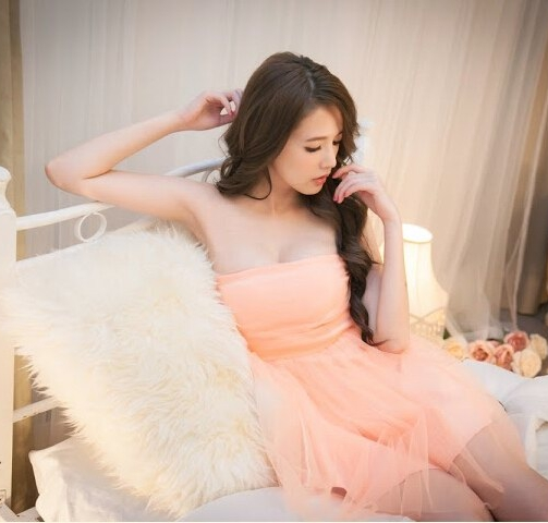 Busana: Dress Bridesmaid Pink Salem (BTA-137)