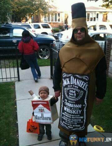 A Halloween That Poor Child Will Never Forget