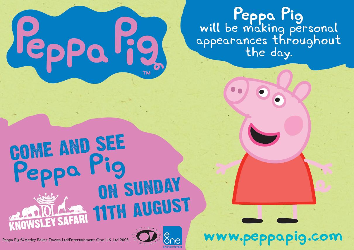 Nickalive nick jr uk star peppa pig to visit knowsley safari nick jr uk star peppa pig to visit knowsley safari park on sunday 11th august 2013 stopboris Image collections