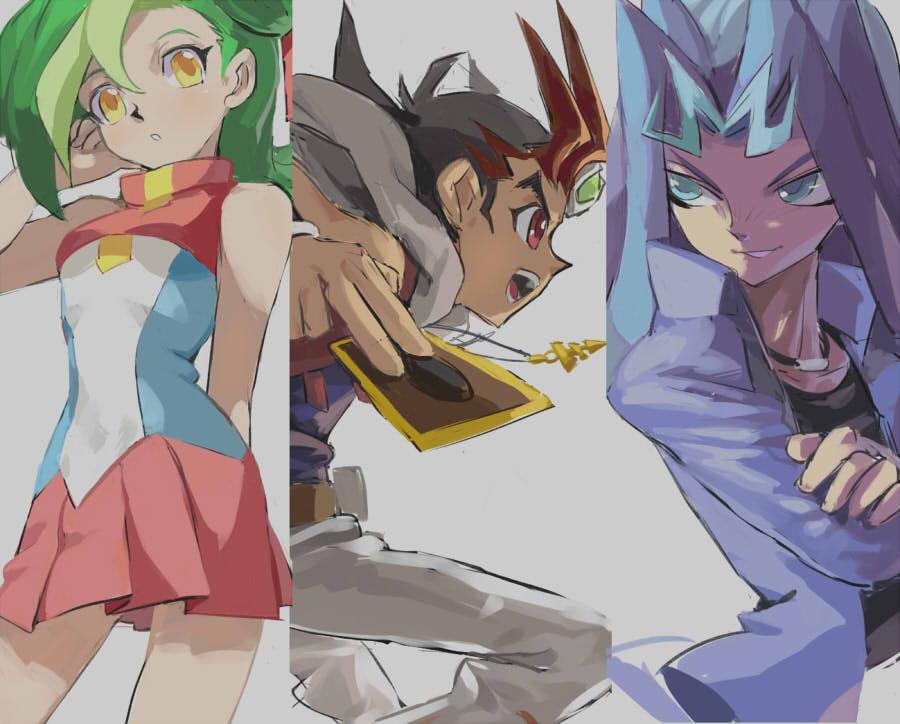 Yu Gi Oh! ZEXAL Capitulo 01
