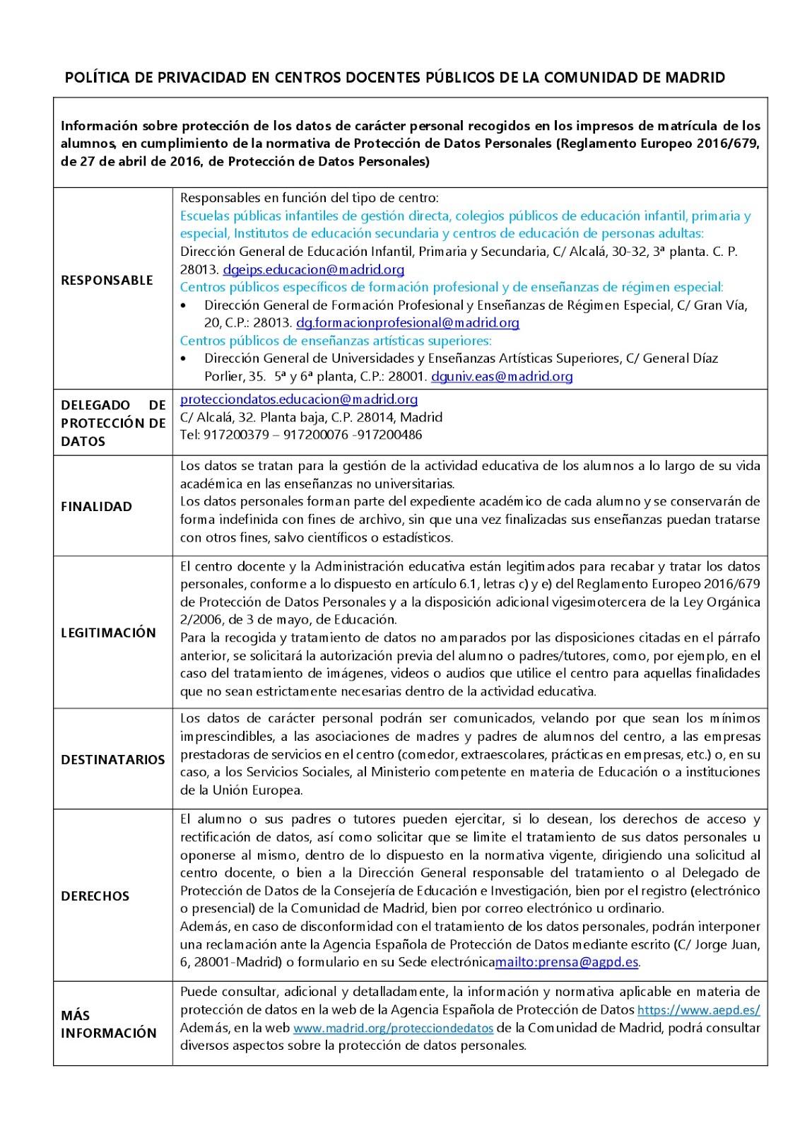 POLITICA DE PRIVACIDAD_MATRICULA