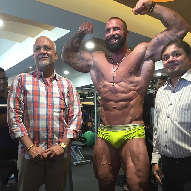 Worldwide Bodybuilders: South African bodybuilder John Lucas