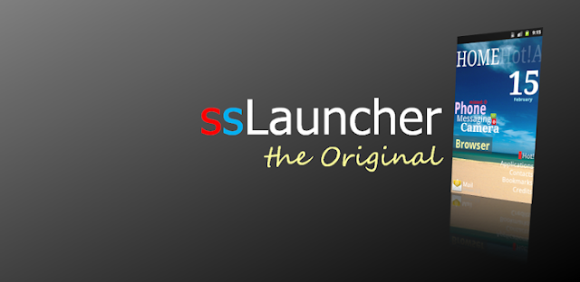 ssLauncher Original Apk v.1.11.10 Full version