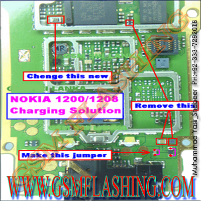 Nokia 1209 Light Problem Light Ways Lcd Lights Problem Light Not ...