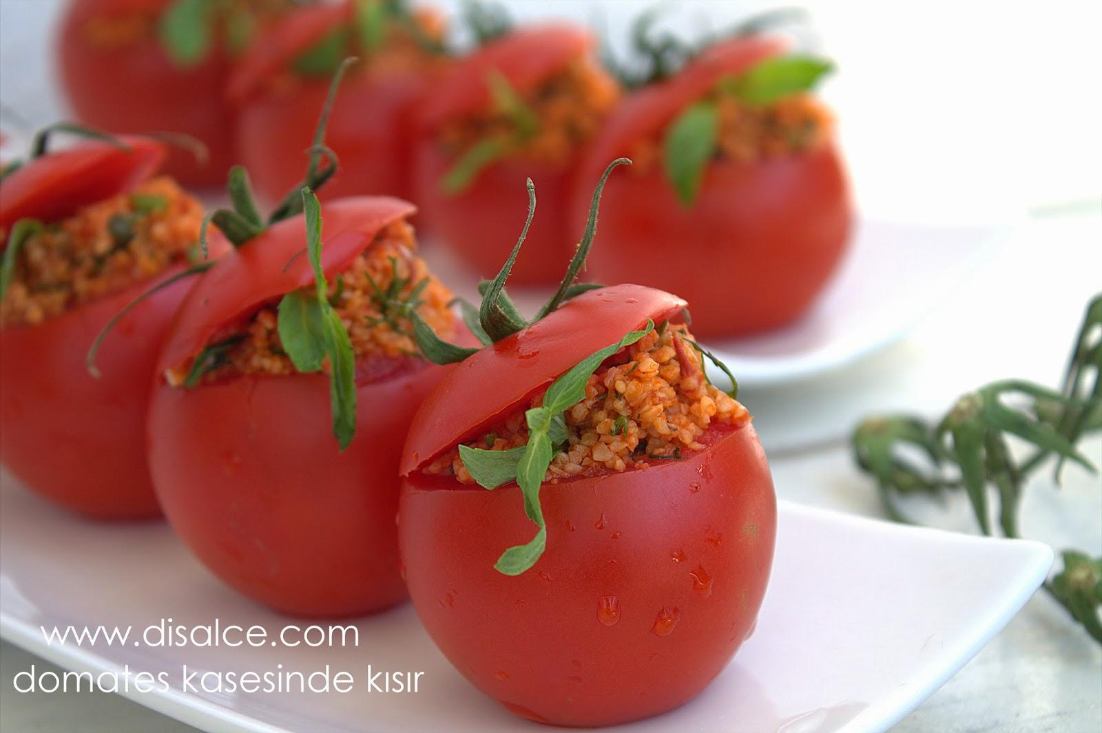 domates kasesinde kısır