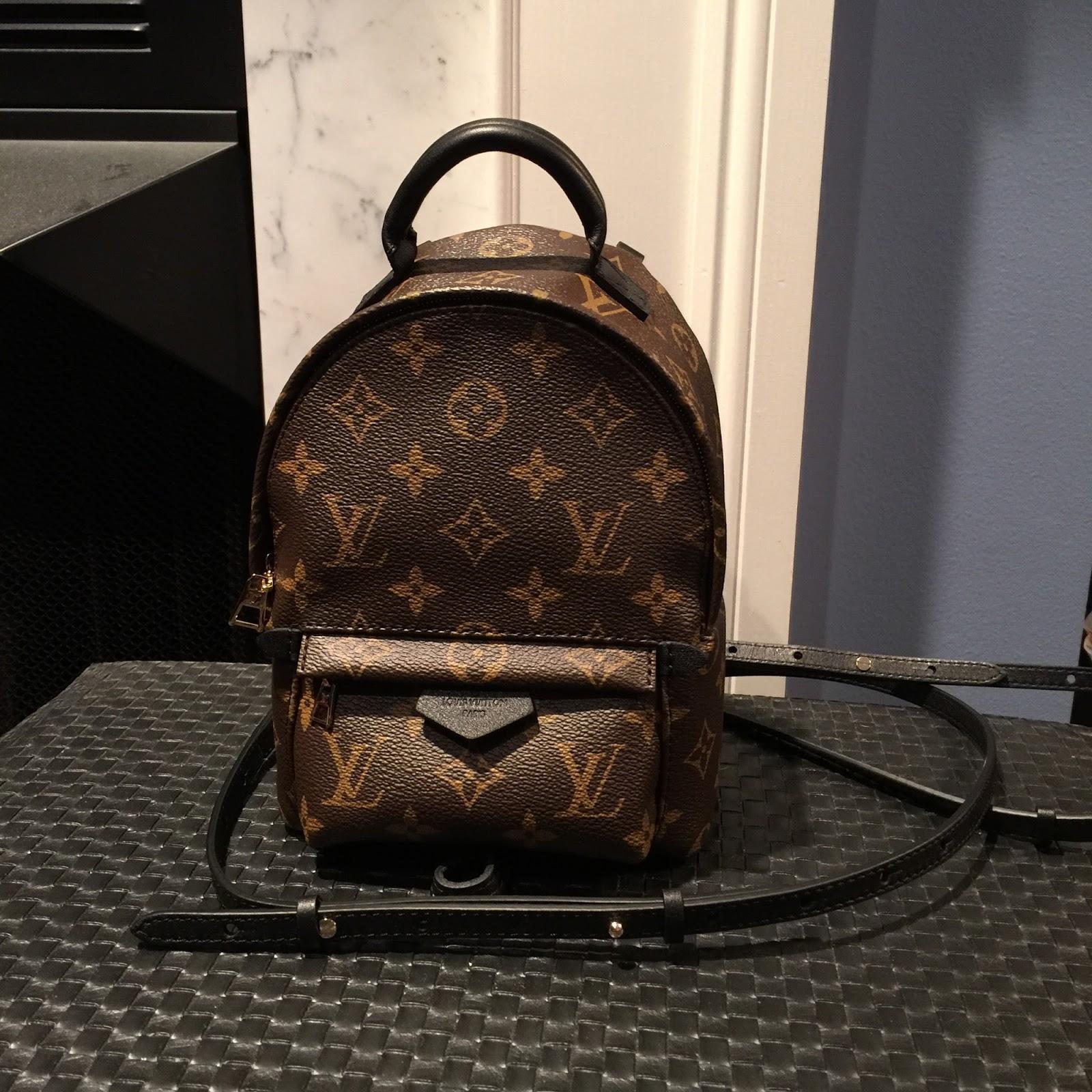 9bc5ea0e36af Louis Vuitton Backpack Mini Brown