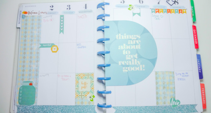 Planner Decoration Happy Planner
