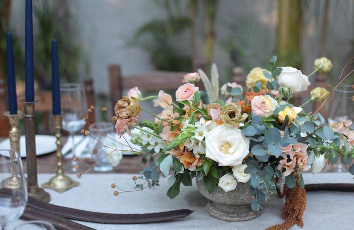 Copa de flores La Musa de Las Flores