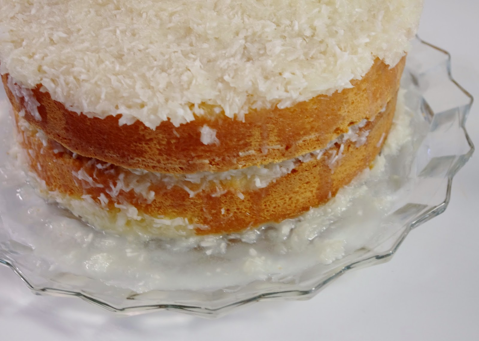 Cooked Coconut Cake Icing