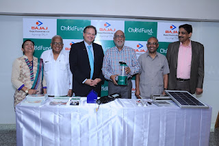 "Bajaj Electricals Ltd. Joins hands with ChildFund India towards flagship education program for Rural India 'Reading Improvement - Books, my Friends' - ""'Mutthi mai Aasma - Sky is the Limit"" Program"