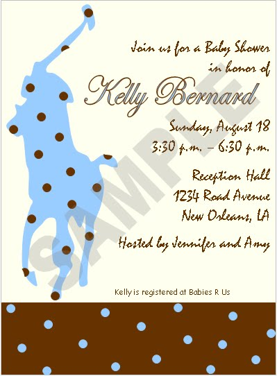 event design by kelly polo theme baby shower invitation samples