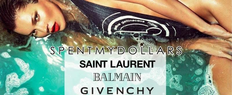 Givenchy, Saint Laurent, Giuseppe Zanotti,  Balmain | SPENT MY DOLLARS | 2015 Fashion,Shoes,Bags