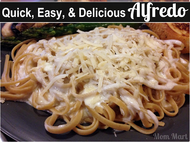 Quick, Easy, and Delicious Alfredo Recipe