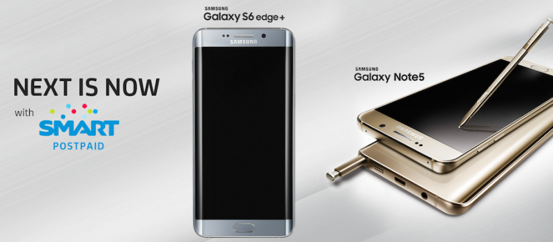 Samsung Note 5 and Samsung Galaxy Edge Plus